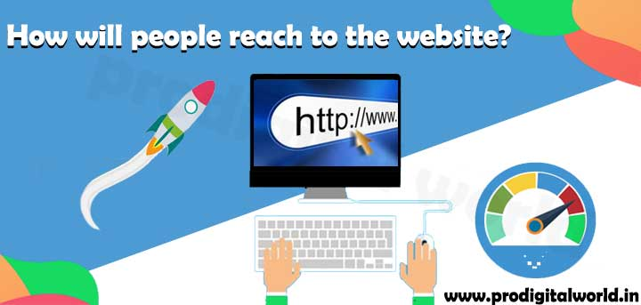 How will people reach to the website